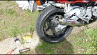 Honda CBR F3 - Plamen z vyfuku