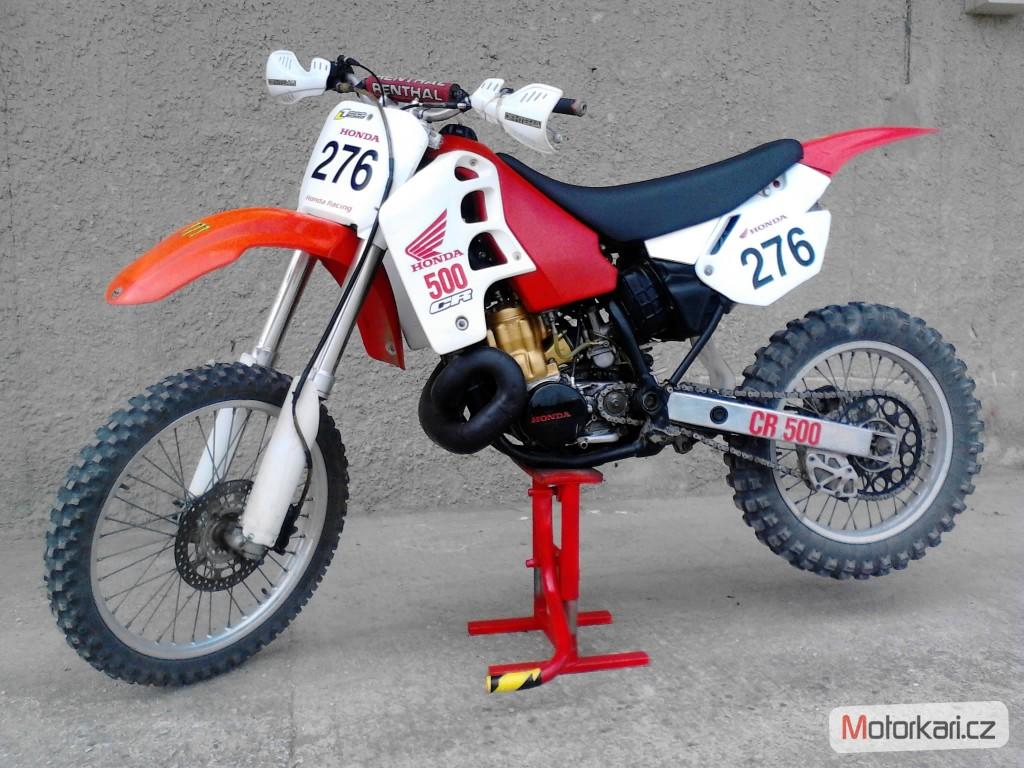 Honda cr 500 u ivatele bodrey motork for Honda cr 500