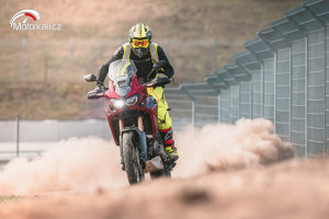Honda Africa Twin Test Day
