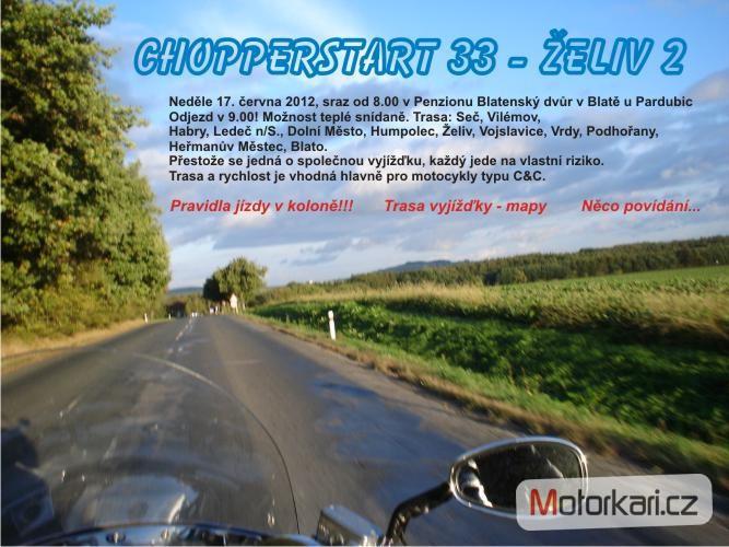 Vyjka Chopperstart 33 - eliv podruh (48 - Motorki