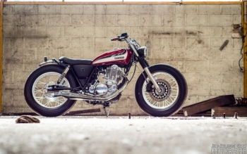 SR400 'Red Flake'