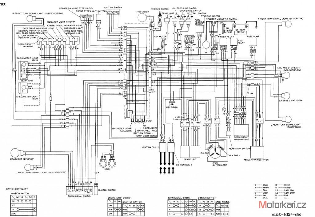 1986 honda vt1100 wiring diagram