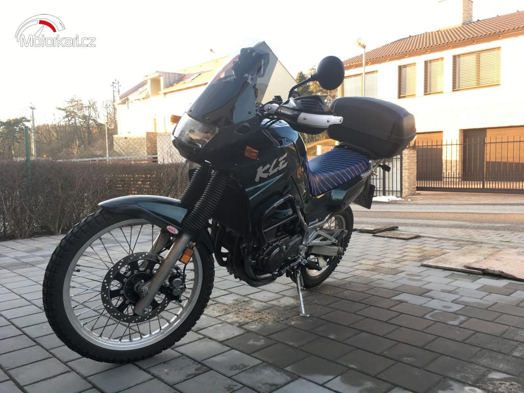 Kawasaki KLE 500 uživatele Animals21 -   Motorkáři.cz