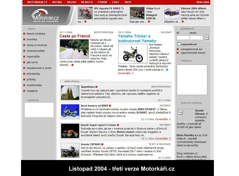 Online seznamka motocyklista